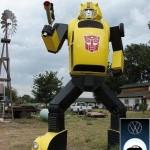 bumblebee-transformer-statue