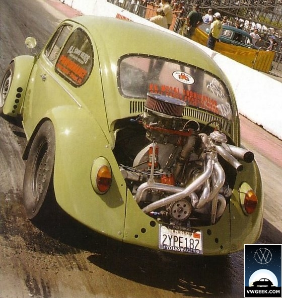 Vw Bug Drag Motor: Venting Arches